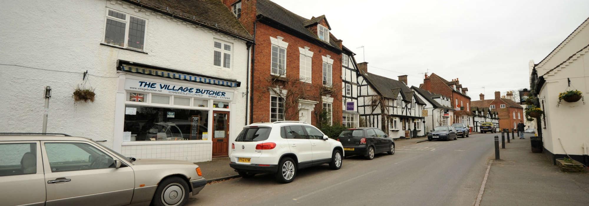 village butchers and shop